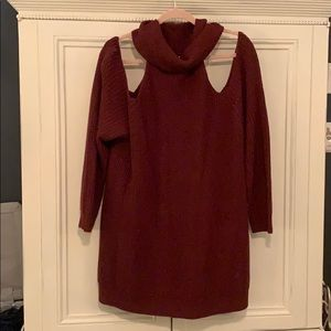 Charlotte Russe + Cowl Neck Sweater